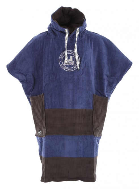 ALL-IN X WH1 V BUMPY Poncho navy/black waffle