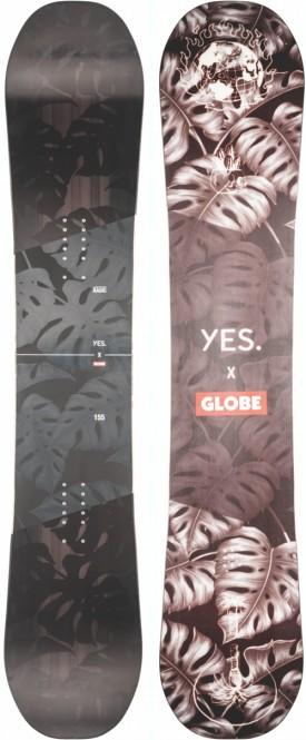 YES. X GLOBE NOT SO BASIC Snowboard - 158