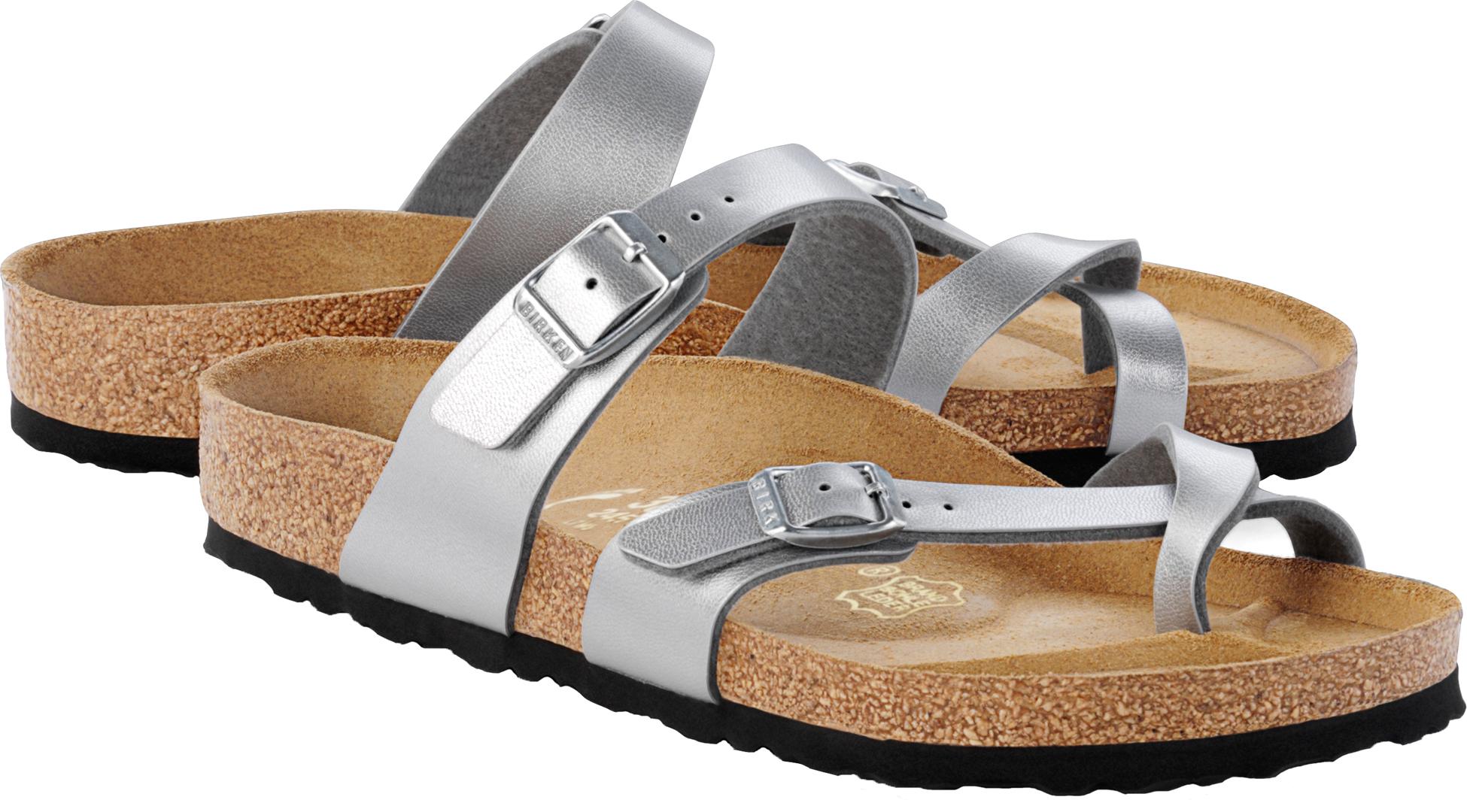 birkenstock mayari sandale sandalen pantoletten 2015 silver ebay. Black Bedroom Furniture Sets. Home Design Ideas