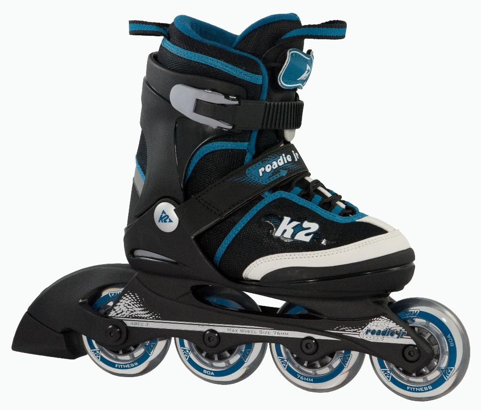 k2 roadie jr boys inline skate set kinder skates inliner. Black Bedroom Furniture Sets. Home Design Ideas