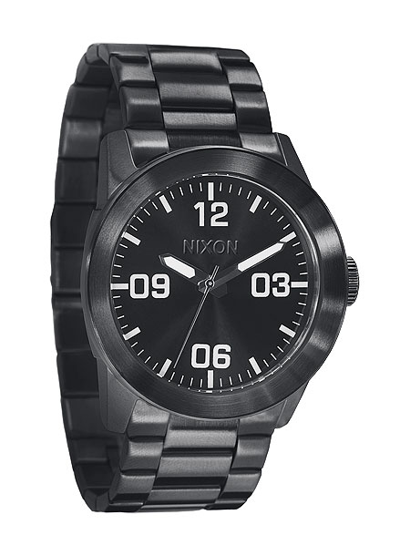 PRIVATE SS Watch all black