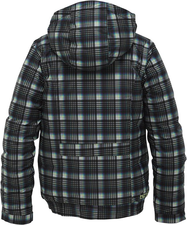 GIRLS TWIST BOMBER Jacke 2012 true black candy plaid